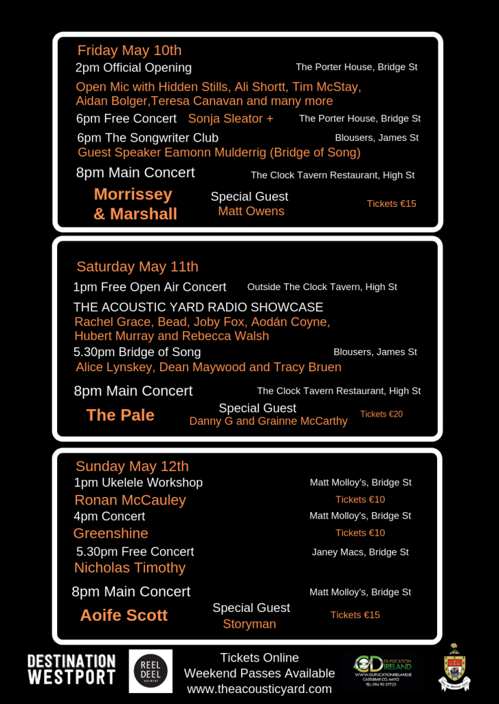 Past Concerts | The Acoustic Yard